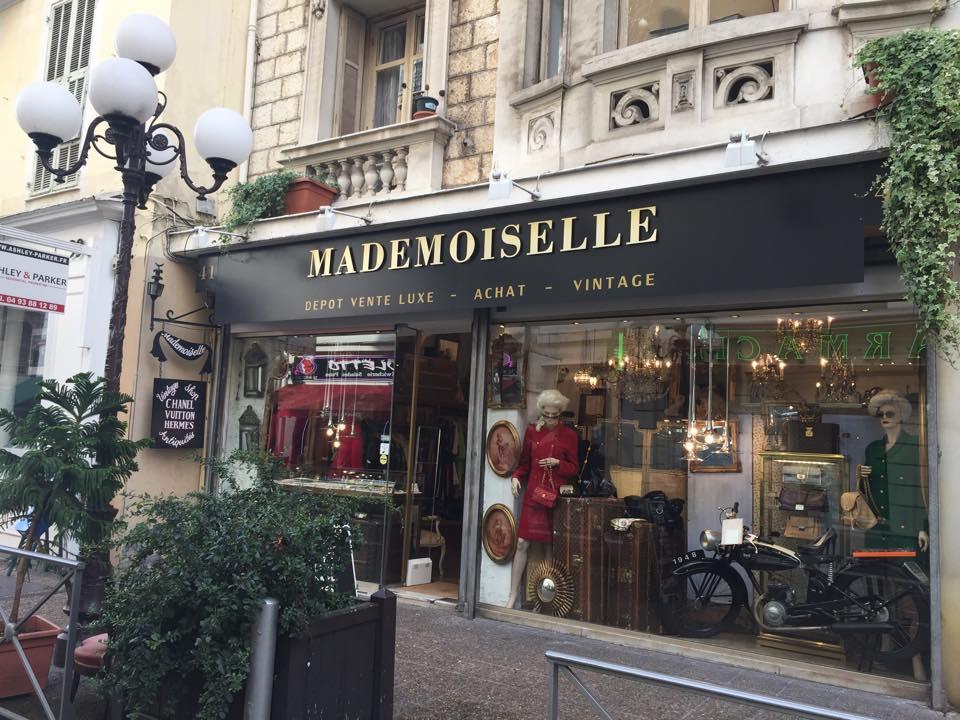Image Mademoiselle dépôt-vente Nice