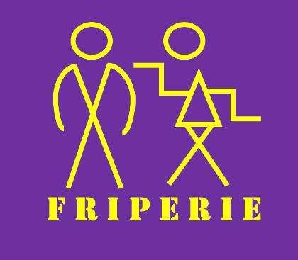 Logo Machin Machine friperie Marseille