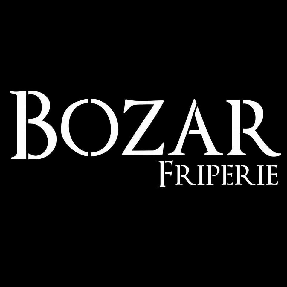 Logo Bozar vintage friperie Nice