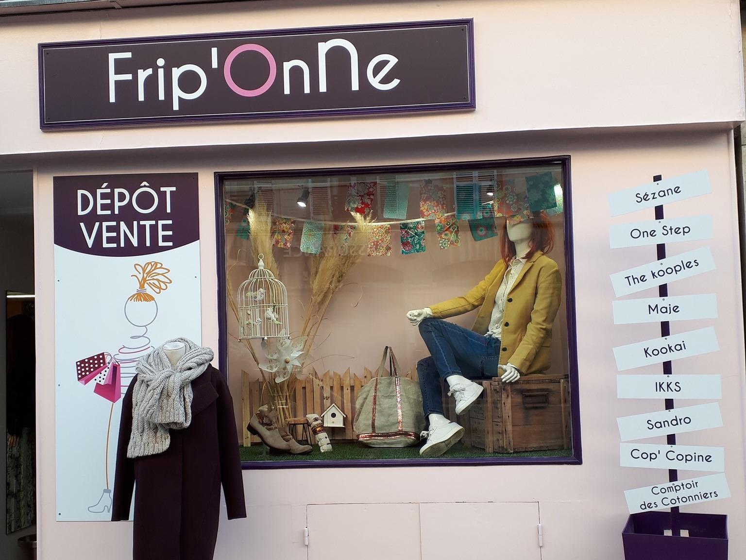 Image Frip'Onne dépôt-vente Dijon
